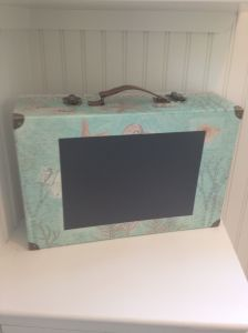 Finished suitcase