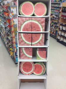 Watermelon display