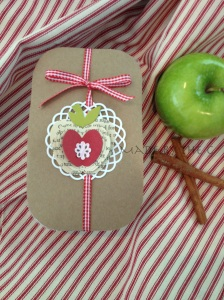 brown paper apple_1