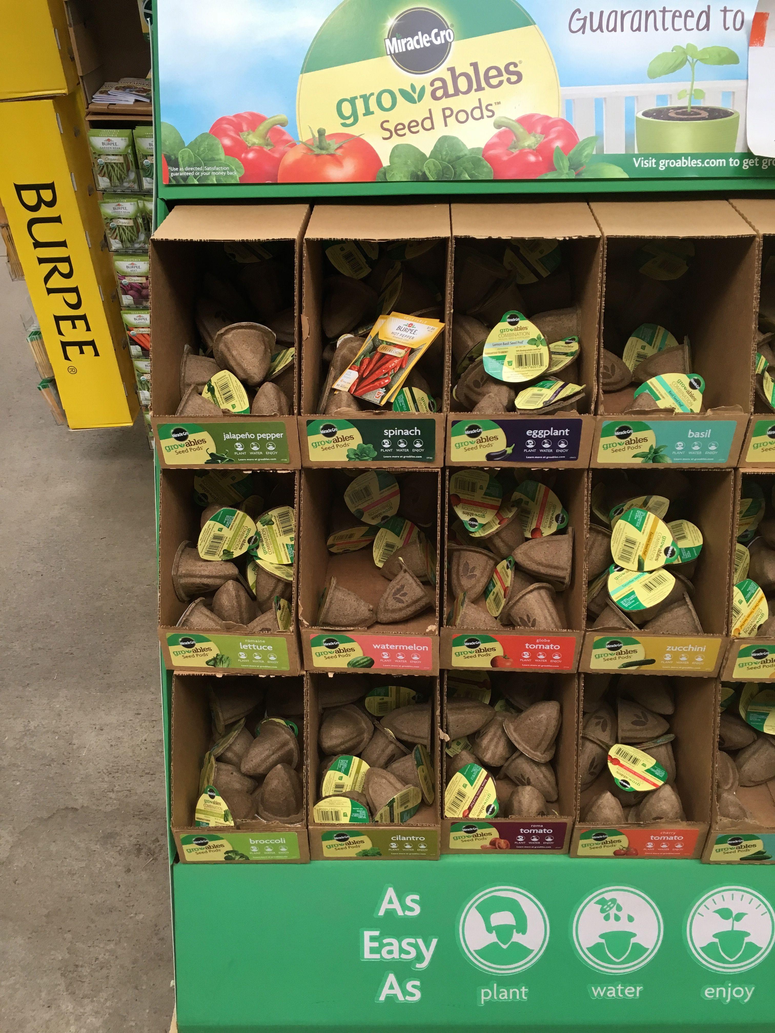Home Depot display